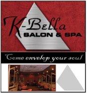 Logo for K-Bella Salon and Spa