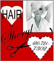 Logo for HAIR by Sheryl