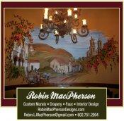 Logo for Robin MacPherson Designs