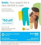 Logo for Foothills Smiles Denstistry