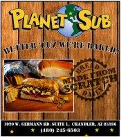 Logo for Planet Sub