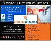 Logo for Element Plumbing