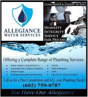 Logo for Allegiance Water Services