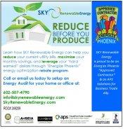 Logo for SKY Renewable Energy - Home Audits