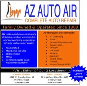 Logo for AZ Auto Air