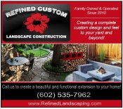 Logo for Refined Custom Landscaping