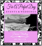 Logo for For A Perfect Day - Wedding and Event Planning