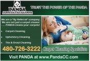 Logo for Panda Carpet & Tile Cleaning
