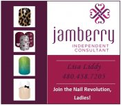 Logo for Jamberry Nails - Independent Consultant - Lisa Liddy