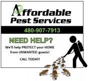 Logo for Affordable Pest Control
