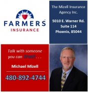 Logo for Farmers Insurance - Michael Mizell Agency