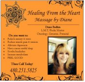 Logo for Healing from the Heart Massage