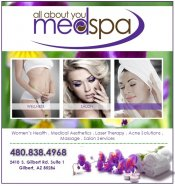 Logo for It's All ABout You Medspa