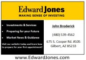 Logo for Edward Jones - John Broderick
