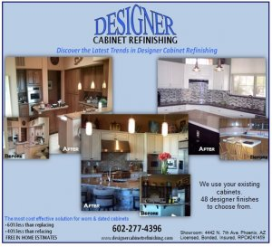Featured image for Designer Cabinet Refinishing