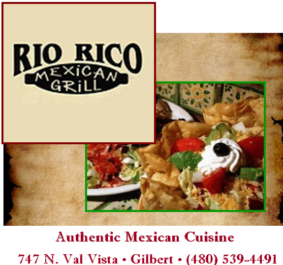 Logo for Rio Rico Mexican Grill