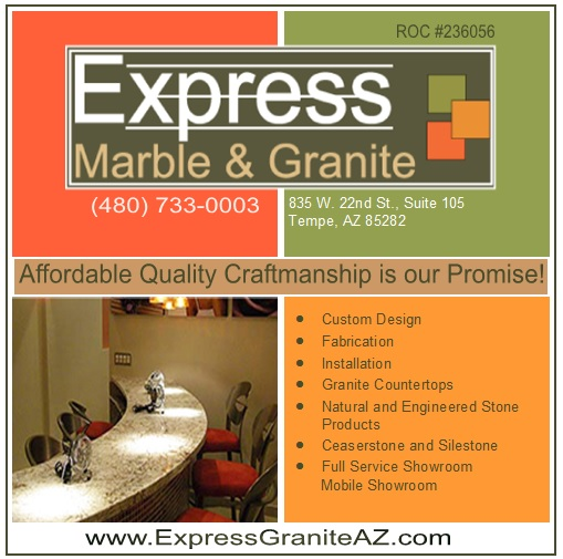 Logo for Express Marble & Granite