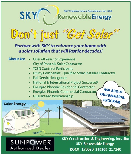 Logo for SKY Renewable Energy - Solar