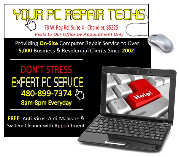 Logo for Your PC Repair Techs