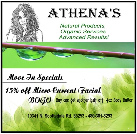 Logo for Athena's Organic Products